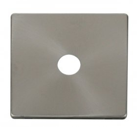 Click Definity Single Satellite / Coaxial Cover Plate SCP231BS