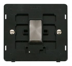 Click Definity 1 Gang 2 Way Switch Insert SIN411BKBS