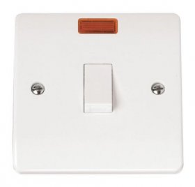 Click Mode 20A Double Pole Switch with Neon CMA623