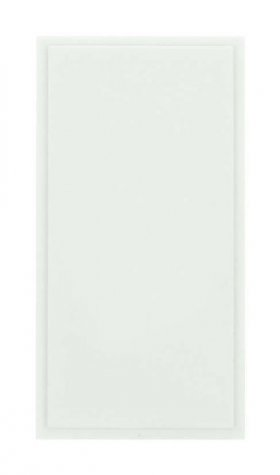 Click New Media MM450WH Single Blank Module White