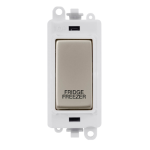 Click Grid Pro GM2018PWPN-FF DP Mod Wh P/Nickel Fridge Freezer