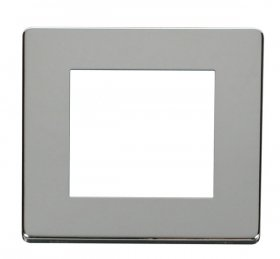 Click Definity Single Media Plate 2G Cover Plate SCP311CH