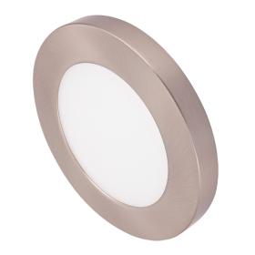 Ovia Satin Chrome Fascia Ring For 6W Apto Downlight OVBZ646SC
