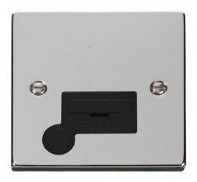 Click Deco Polished Chrome Unswitched Fused Spur + F/O VPCH050BK