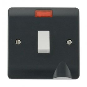 Click Mode 20A Double Pole Switch with Neon & Flex Outlet CMA023