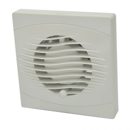 Elex 150mm Mains Extractor Fan With Humidistat Ecf150h 35 00 Click4electrics Online Electrical Wholesaler