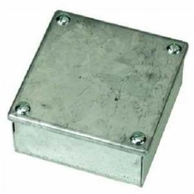 Galvanised Steel Adaptable Box 4'x4'x2'