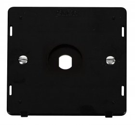 Click Definity 1 Gang Empty Dimmer Plate Insert SIN141PL
