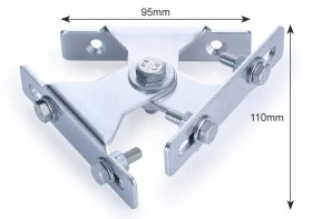 KR Products Swivel Bracket to Carry 2 Flood Lights KRP2