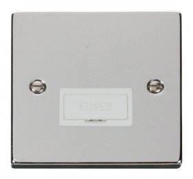 Click Deco Polished Chrome Unswitched Fused Spur VPCH650WH