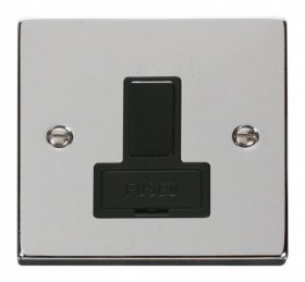 Click Deco Polished Chrome Switched Fused Spur VPCH651BK
