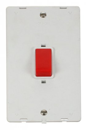 Click Definity 45A DP Vertical Switch Insert SIN202PW