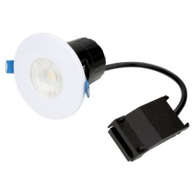 EMCOLED 6W IP65 Fire Rated LED 3000K Downlight EMLED63DW