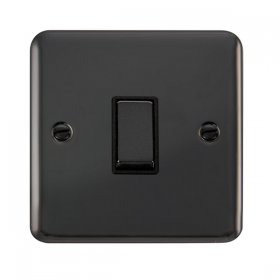 Click Deco Plus 1 Gang 2 Way Ingot Switch DPBN411BK