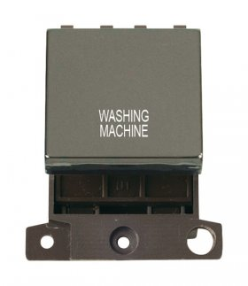 Click MiniGrid MD022BNWM B/Nickel 20A DP Washing Machine Sw Mod