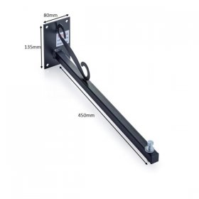 KR Products Sign Light 45cm Spigot for 1x 30W Flood Light KRP14
