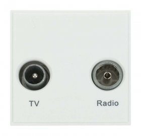 Click New Media MM420WH Diplexed TV and Radio Module White