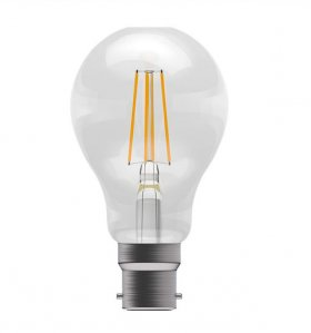 Bell 4W BC LED Amber Filament GLS Lamp ­60061