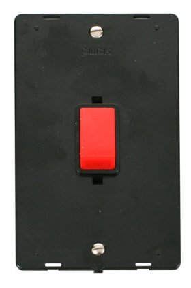 Click Definity 45A DP Vertical Switch Insert SIN202BK