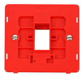 Click Definity 1 Gang Plate 1G Aperture Switch Insert SIN401RD
