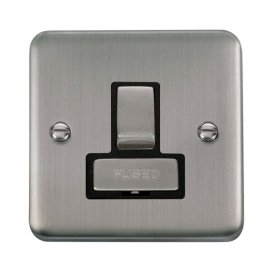 Click Deco Plus Switched Fused Spur DPSS751BK