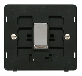 Click Definity 1 Gang 2 Way Switch Insert SIN411BKCH