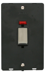 Click Definity 45A Vertical Switch With Neon Insert SIN503BKSS
