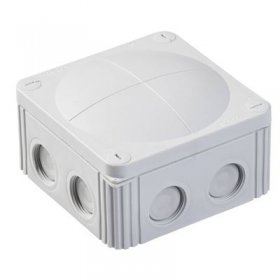 Wiska 61778 Waterproof Junction Box Combi 607/5 Grey