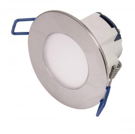 Ovia Inceptor Pico Pol/Chrome 2700K IP65 5.5W LED Dim Downlight