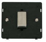 Click Definity 45A DP Switch Single Plate Insert SIN500BKSS