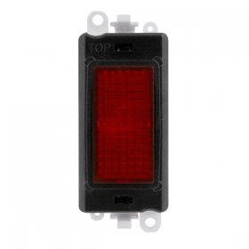 Click Grid Pro GM2080BK Red Indicator Module Black