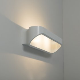 KSR Orsay Large 2x5W 3000K LED Wall Light White KSR7261