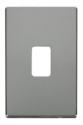 Click Definity 45A Vertical Cooker Switch Cover Plate SCP202CH