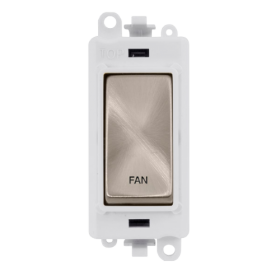 Click Grid Pro GM2018PWBS-FN DP Module White B/Stainless Fan