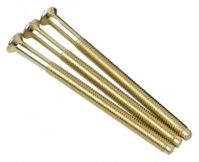 "Click SP650BR 3.5x50mm Longer Brass ""Deco"" Fixing Screws"
