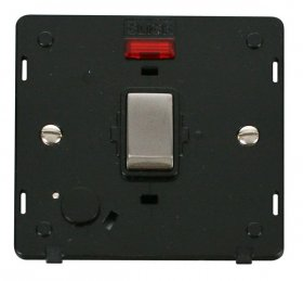 Click Definity 20A DP Switch With F/O Neon Insert SIN523BKSS