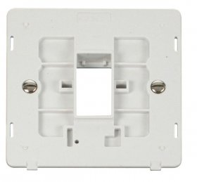 Click Definity 1 Gang Plate 1G Aperture Switch Insert SIN401PW