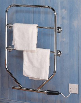 Dimplex 120W Chrome Water Glycol Towel Rail TTRC150