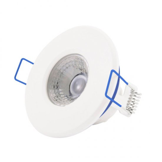 Inceptor Nano 5 Fixed White Dimmable LED Downlight Cool White