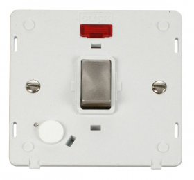 Click Definity 20A DP Switch With F/O Neon Insert SIN523PWBS