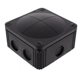 Wiska 61779 Waterproof Junction Box Combi 607/5 Black