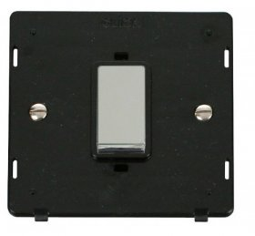 Click Definity 45A DP Switch Single Plate Insert SIN500BKCH