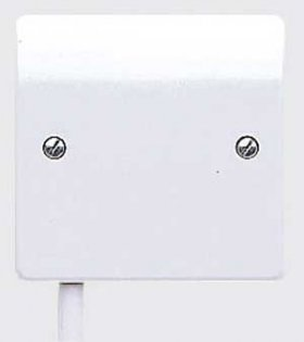 MK Logic Plus K1090WHI 1 Gang Flex Outlet Plate