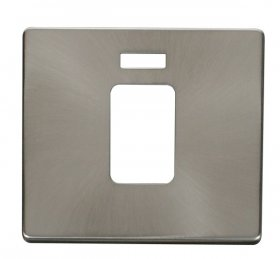 Click Definity 45A Single Cooker Sw Neon Cover Plate SCP201BS
