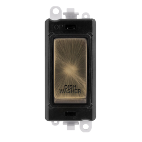 Click Grid Pro GM2018BKAB-DW DP Mod Black Ant/Brass Dishwasher