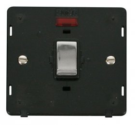 Click Definity 20A DP Switch With Neon Insert SIN723BKCH