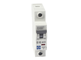 Lewden Single Pole 1 Module 6A Type B 6kA MCB G06-1B06