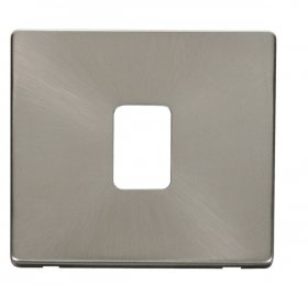 Click Definity 20A DP Switch Cover Plate SCP422BS