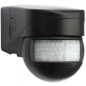 BEG 91071 Black 120degree IP44 Occupancy Motion Detector 1000W