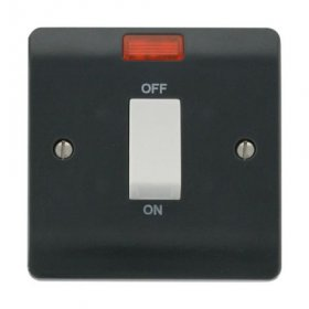 Click Mode Part M 45A Cooker Switch with Neon CMA501AG